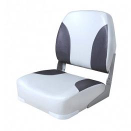 Сиденье мягкое складное Classic Low Back Seat, серо-черный