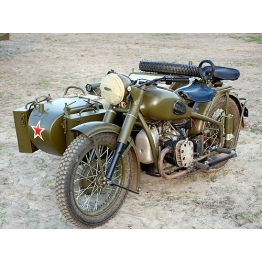 Мотоциклы Победы. Как у Красной Армии появились военные мотоциклы