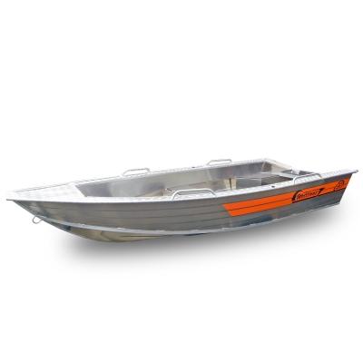 Алюминиевая лодка Wellboat-37