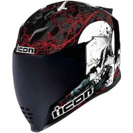 Шлем интеграл ICON Airflite Helmet SKULL