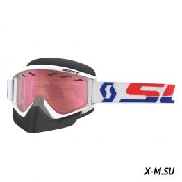 Очки RECOIL XI SNOW CROSS Safari (white/rose)