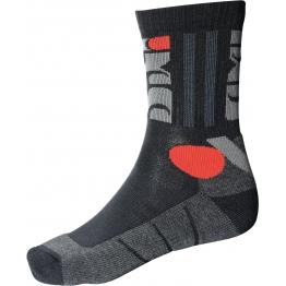 Носки короткие  TOURING II черный/серый/красный  37/39