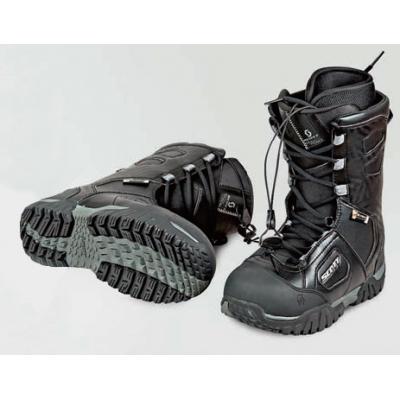 Ботинки снегоходные  X-TRAX черный/серый р. 44