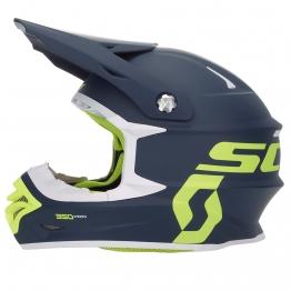 Шлем 350 Pro ECE, синий/желтый, L