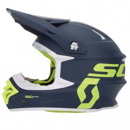 Шлем 350 Pro ECE, синий/желтый, XXL