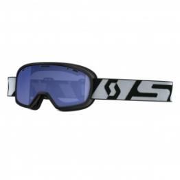 Очки подростк. Buzz Pro Snow Cross синий/белый/голубой