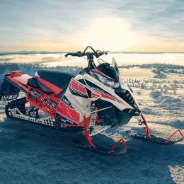 Акция! При покупке снегохода Yamaha прицеп в подарок!