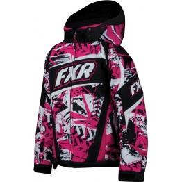 Куртка FXR HELIX CHILD (Fuchsia Sabotage S)