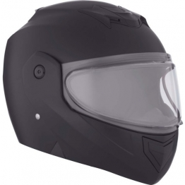 Шлем снегоходный модулярный CKX M710 Solid EDL черн.мат. L