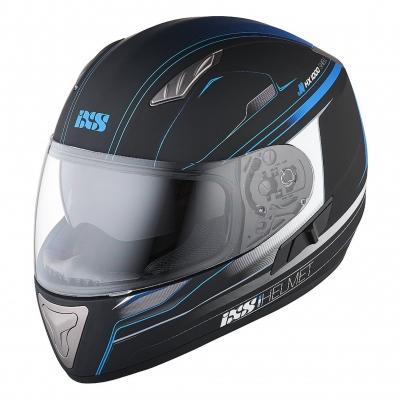 Шлем интегральный HX 1000 Fork чер/син мат XL
