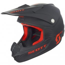 Шлем 350 Pro ECE, черный/оранжевый, M