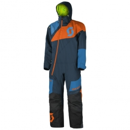 Комбинезон Monosuit DS, темно-синий/оранжевый, M