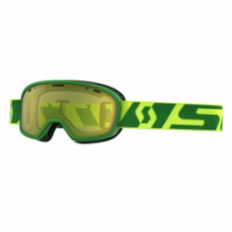 Очки подростк. Buzz Pro Snow Cross зеленый/желтый